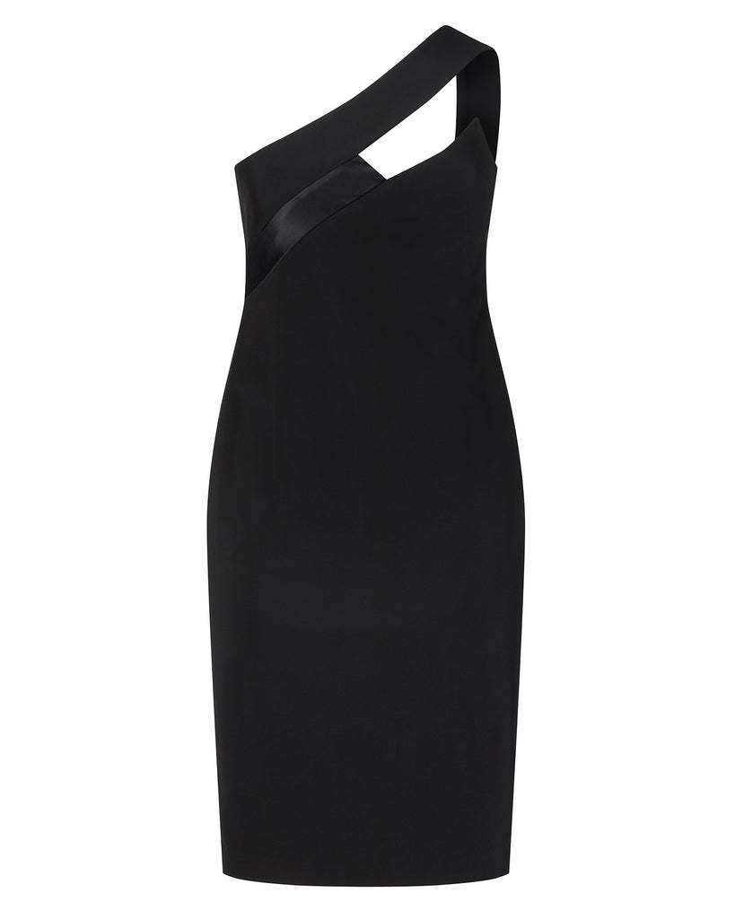 One Shoulder Pencil Dress