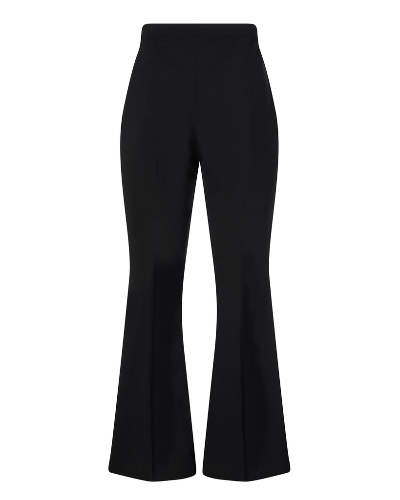 Black Flared Trouser