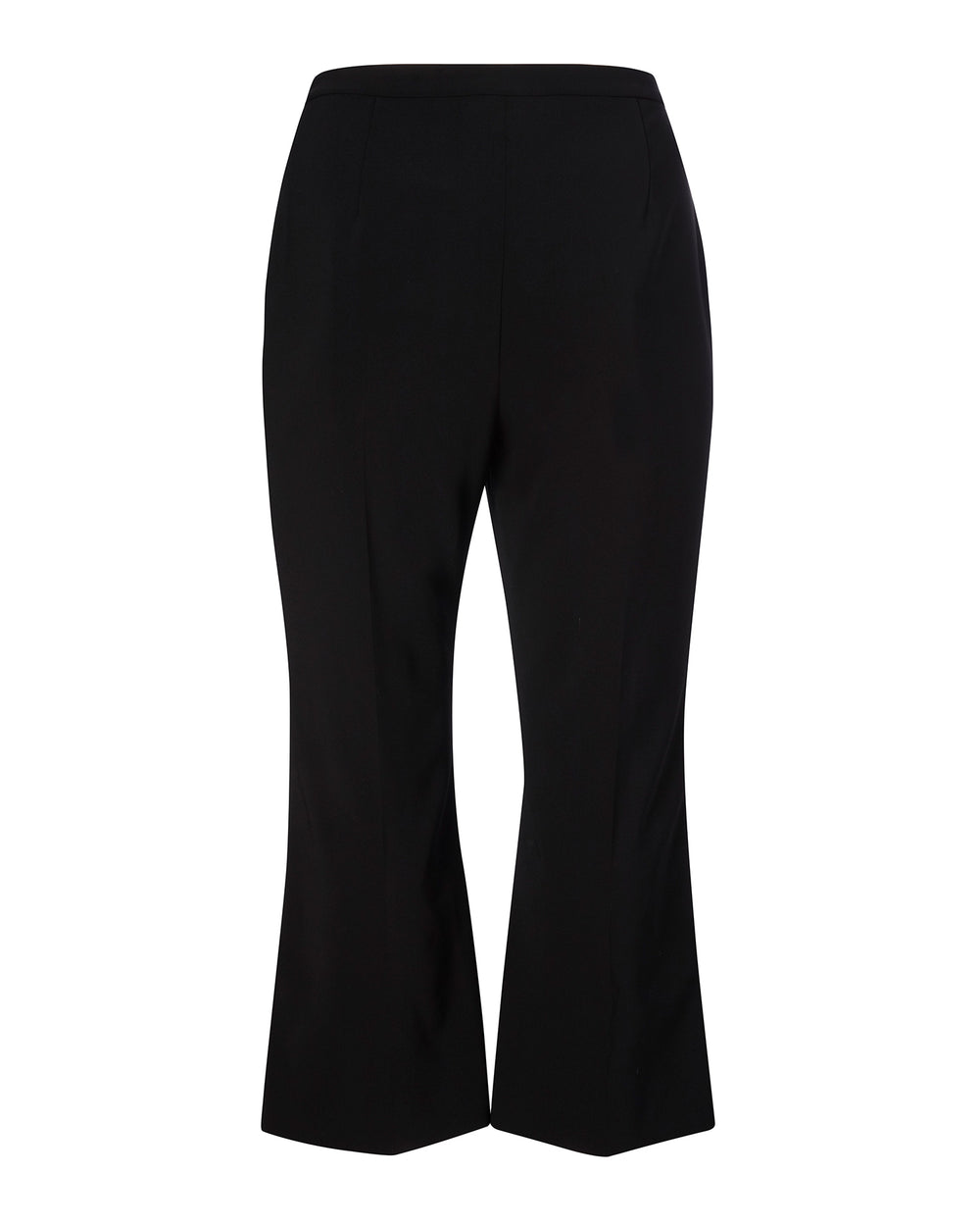 Textured Crepe Trousers