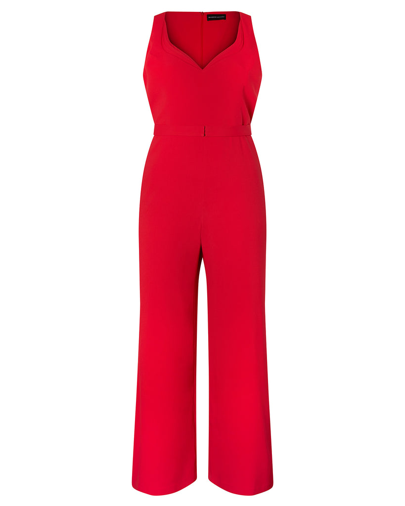 Jumpsuit With Sweetheart Neckline