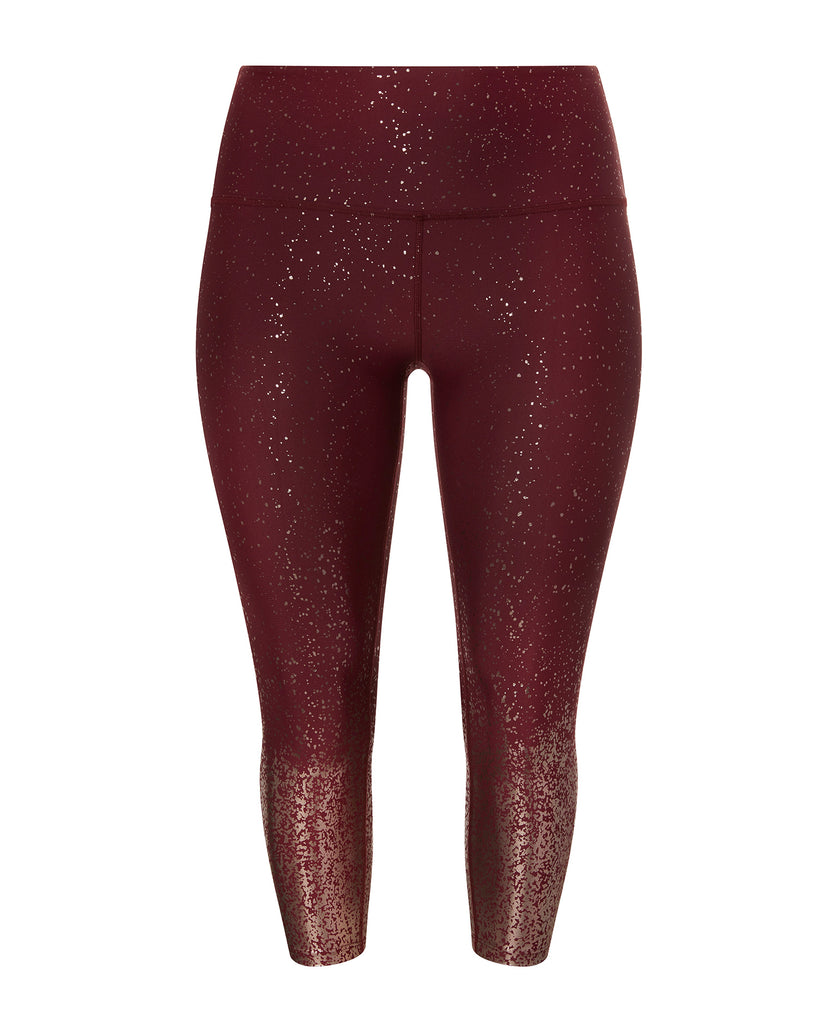 Alloy Ombre High-Waisted Midi Legging