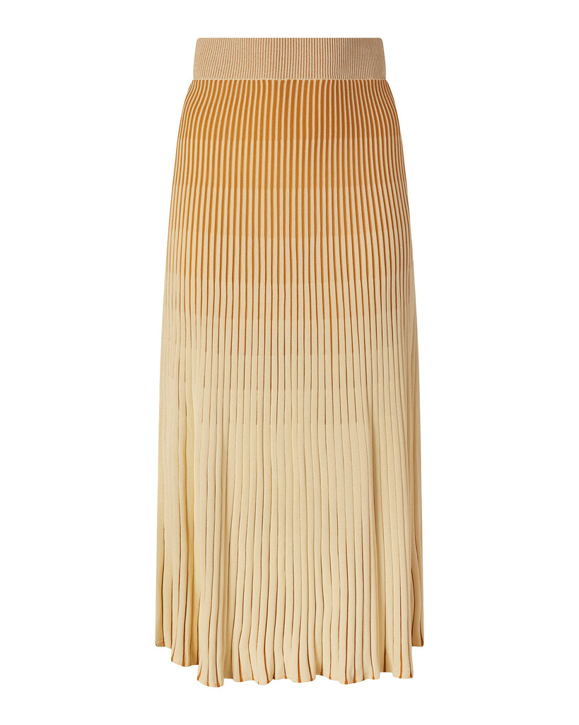 Knit Pleated Skirt