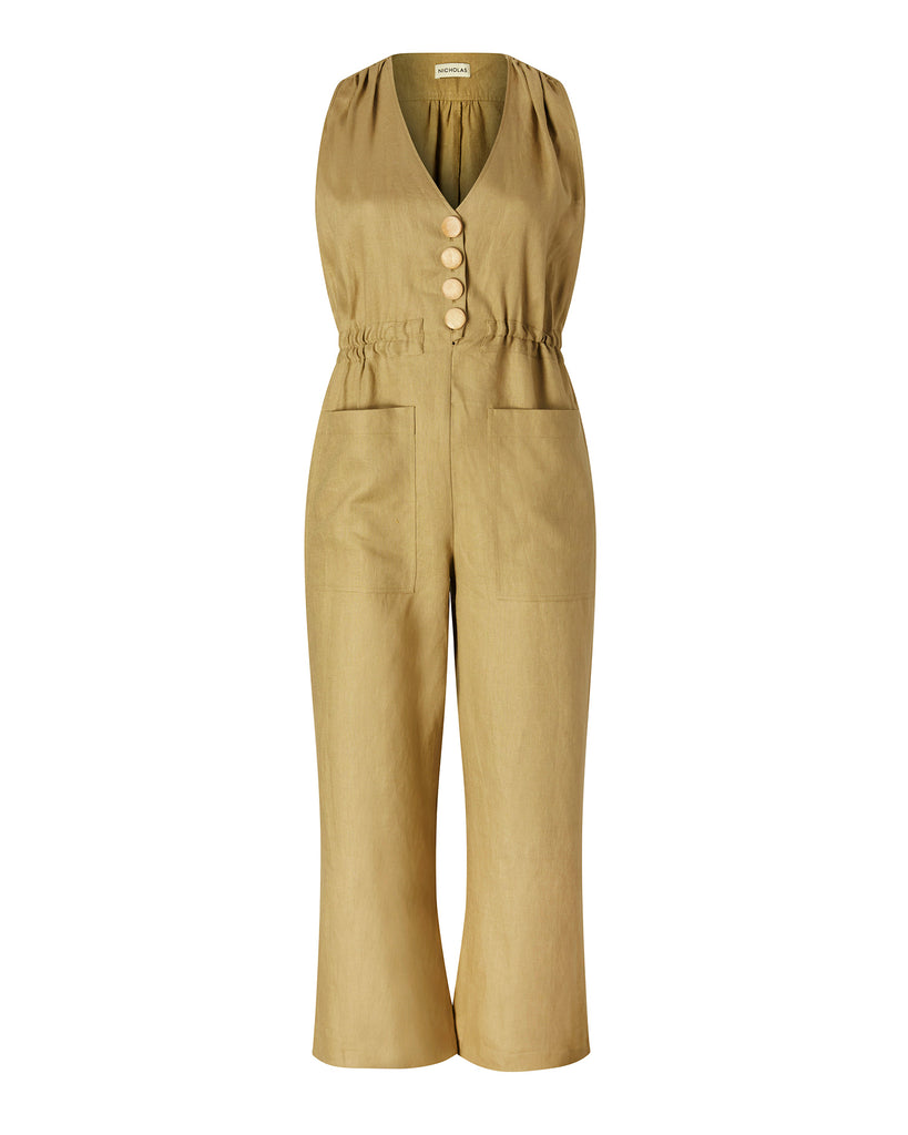 Button Jumpsuit