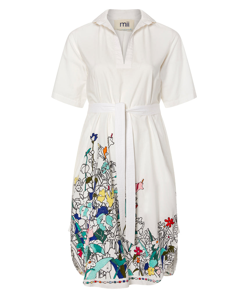 Coloriage Embroidered Shirtdress