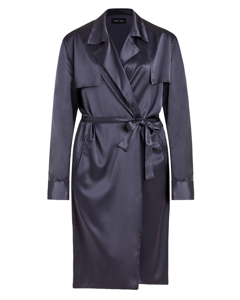 Lightweight Belted Trenchcoat