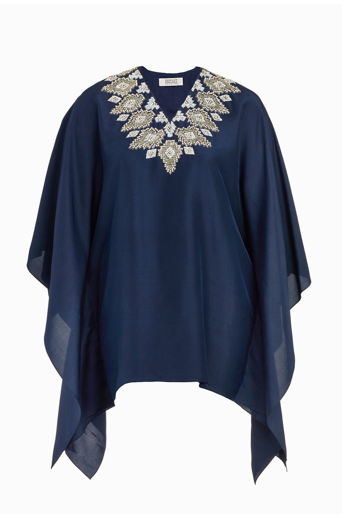 Geometric Embroidered Caftan