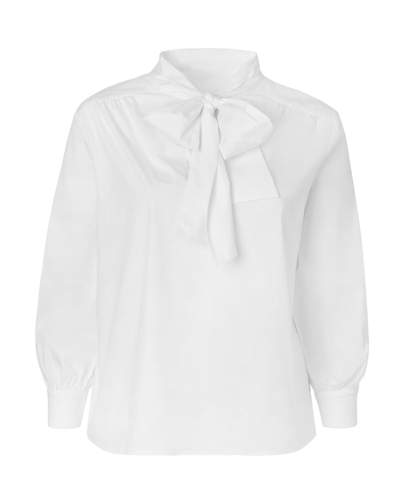 Marion Scarf Neck Blouse