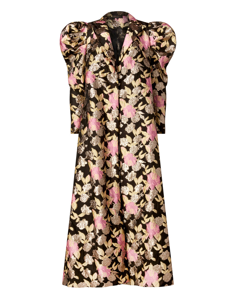 Psychadelic Floral Evening Coat