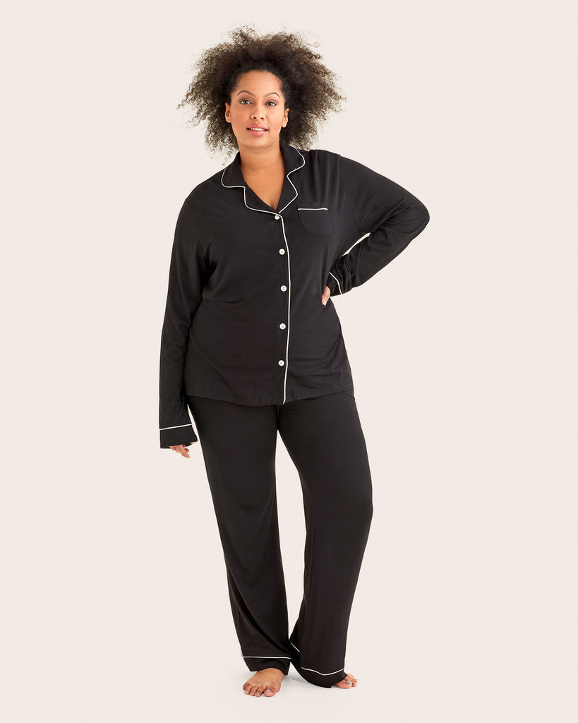 Long Sleeve Top and Pant PJ Set