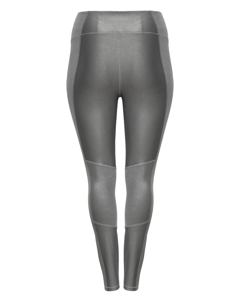 The Shiny Rib Legging