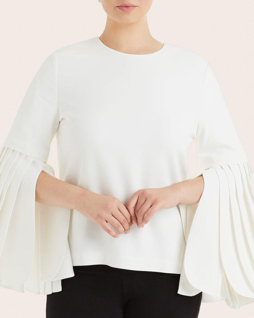 Petal Sleeve Top