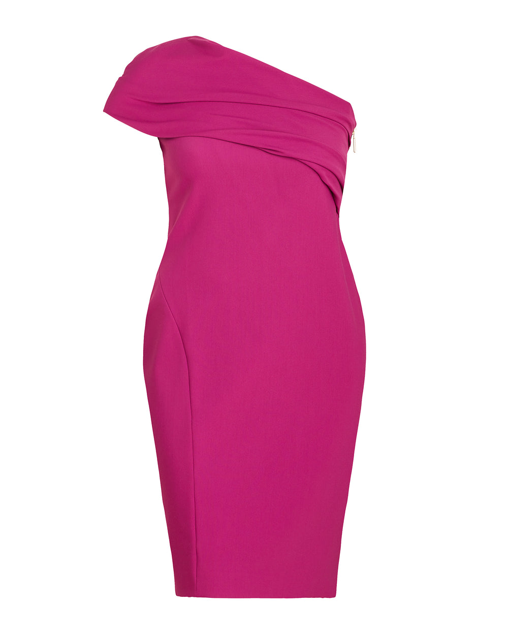 Alexandria Asymmetric Draped Bust Dress