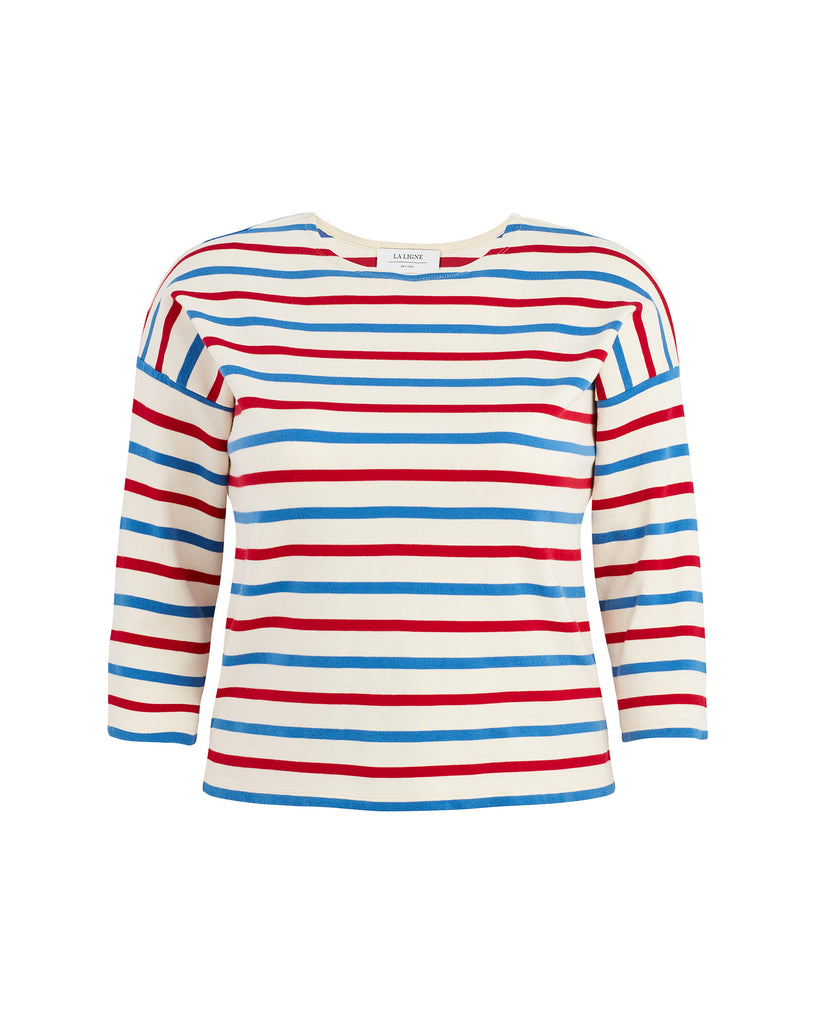 US Navy Striped T-Shirt