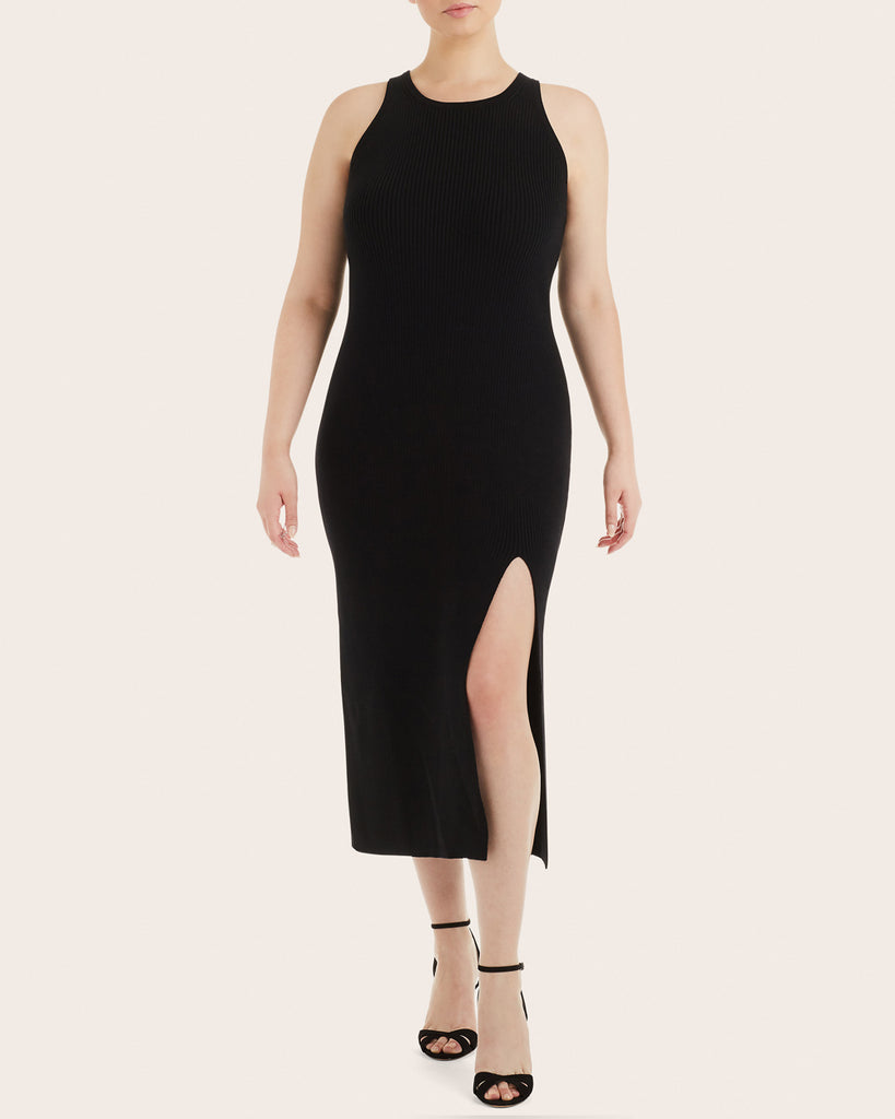 Merino Wool Slash Dress