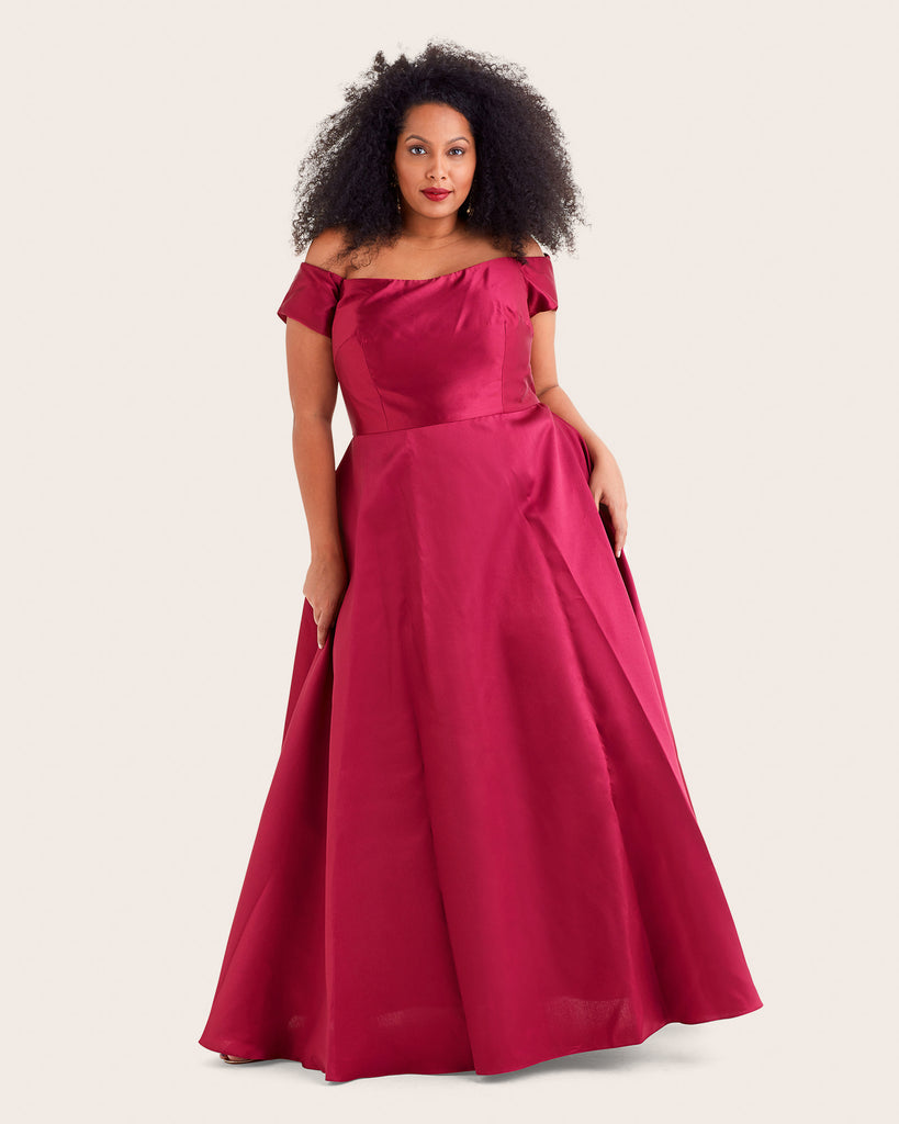 Off-the-Shoulder Ballgown