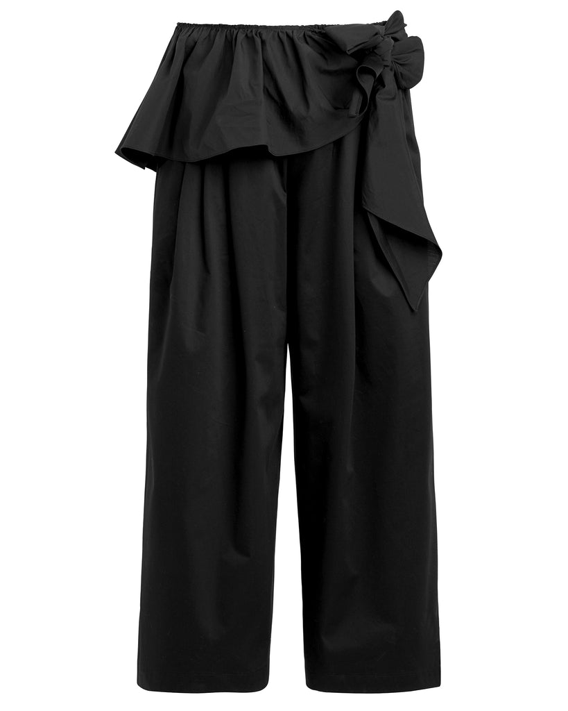 Karate Pants with Ruffle Belt