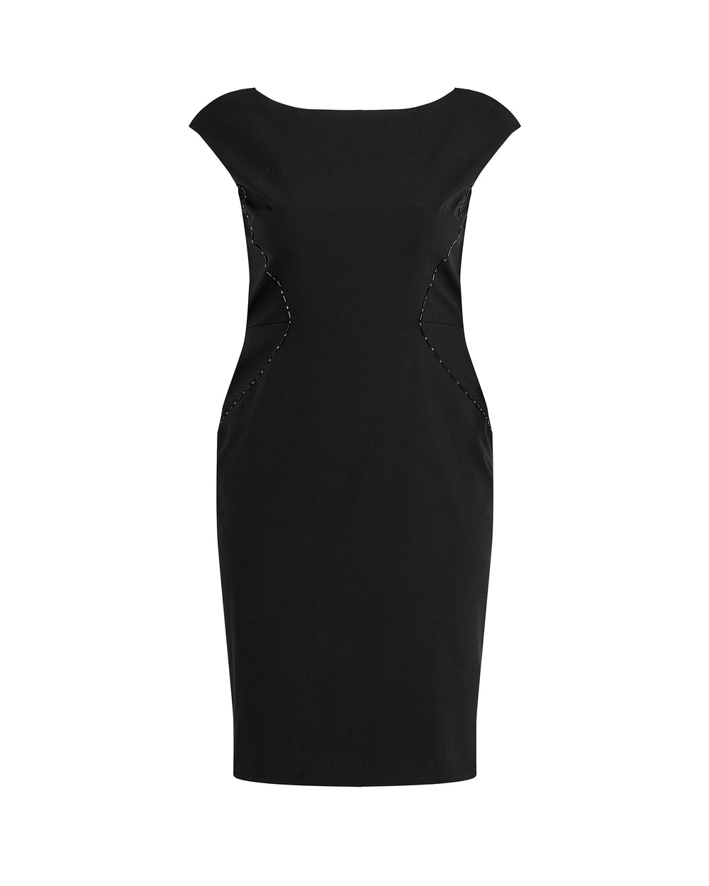 Stretch Cady Sheath Dress