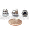U.S. / Inch - Acorn Cap Hex Nuts, Stainless Steel 18-8 / 304 - Monster Bolts