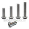 #10-32 Fine  Stainless Steel Button Head Socket Caps screws - 18-8 / A2 - Monster Bolts