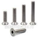 M4 Marine Grade Flat Head Socket Cap screws, Stainless Steel A4 (316)