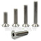 M6 Flat Head Socket Cap screws, Stainless Steel A2 (18-8)