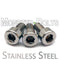 Stainless Steel Guitar Locking Nut Screws - Floyd Rose Tremolo - Monster Bolts