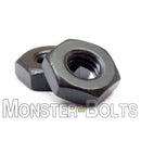 U.S. / Inch - Hex Nuts for Machine Screws - Steel with Black Oxide - Monster Bolts