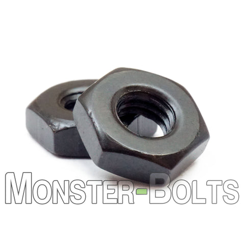 U.S. / Inch - Hex Nuts for Machine Screws - Steel with Black Oxide