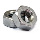 U.S. / Inch - Hex Nuts for Machine Screws - Stainless Steel A2 / 18-8