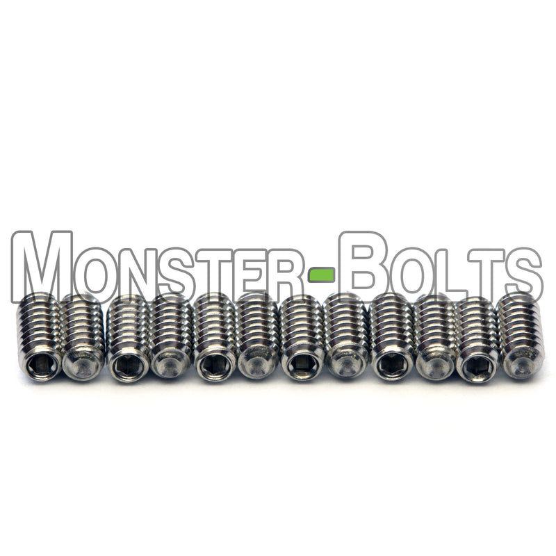 #4-40 Guitar Screws for Bridge Saddle Height Adjustment, Stainless Steel - For American made Fender Stratocaster and similar