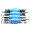 Blue Halo Series - Noiseless Guitar Tremolo Springs - Monster Bolts
