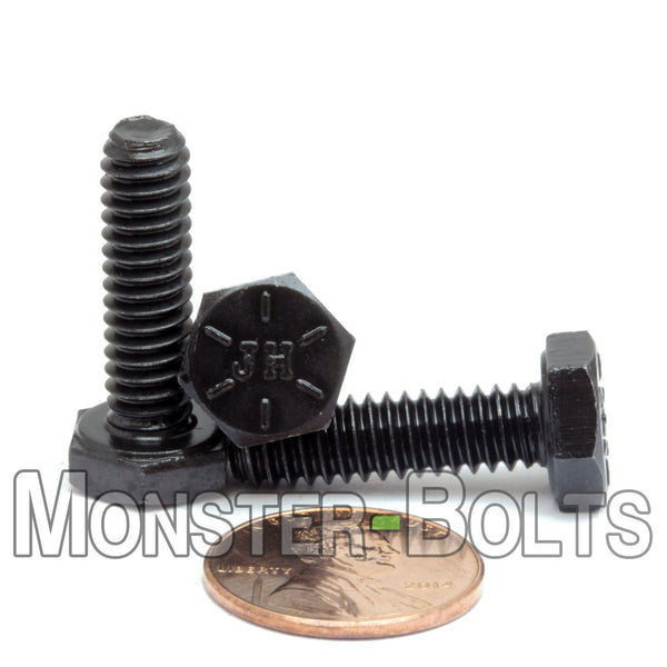 """1//4-20 x 1-3//4/"""" Stainless Steel Bolts Hex Head Grade 18-8 Qty 500"""