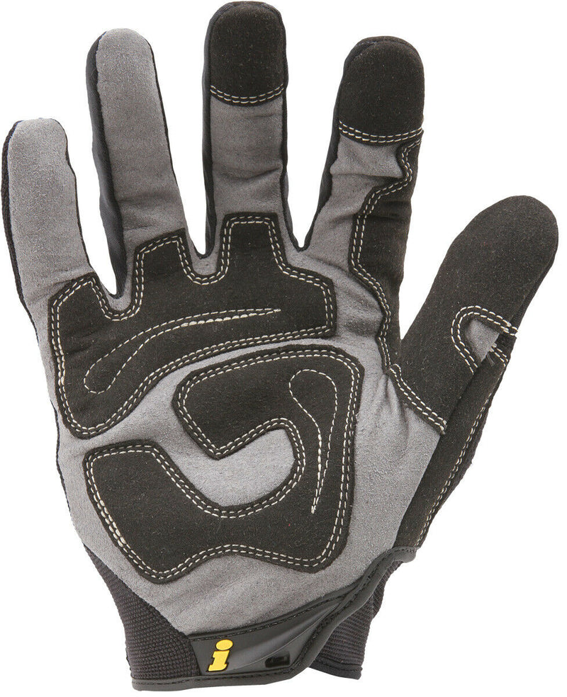 Ironclad GUG Black Mechanics General Utility Work All Purpose Gloves - Monster Bolts