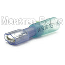 SES Krimpa-Seal Sealed Fully Insulated Female Quick Slide, Slip on Crimp Connector, 16-14 AWG, 2 Hump - Monster Bolts