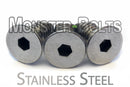 Stainless Steel Guitar Locking Nut Screws - Kahler