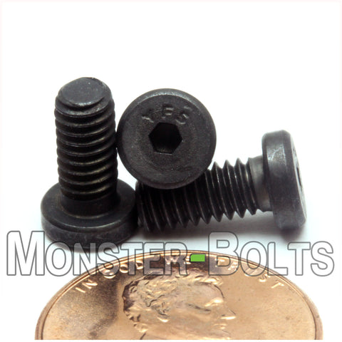 #8-32 - LOW HEAD SOCKET Caps screws Alloy Steel w/ Thermal Black Oxide