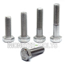 M6 Hex Bolts, Stainless Steel 18-8 (A2) - Monster Bolts