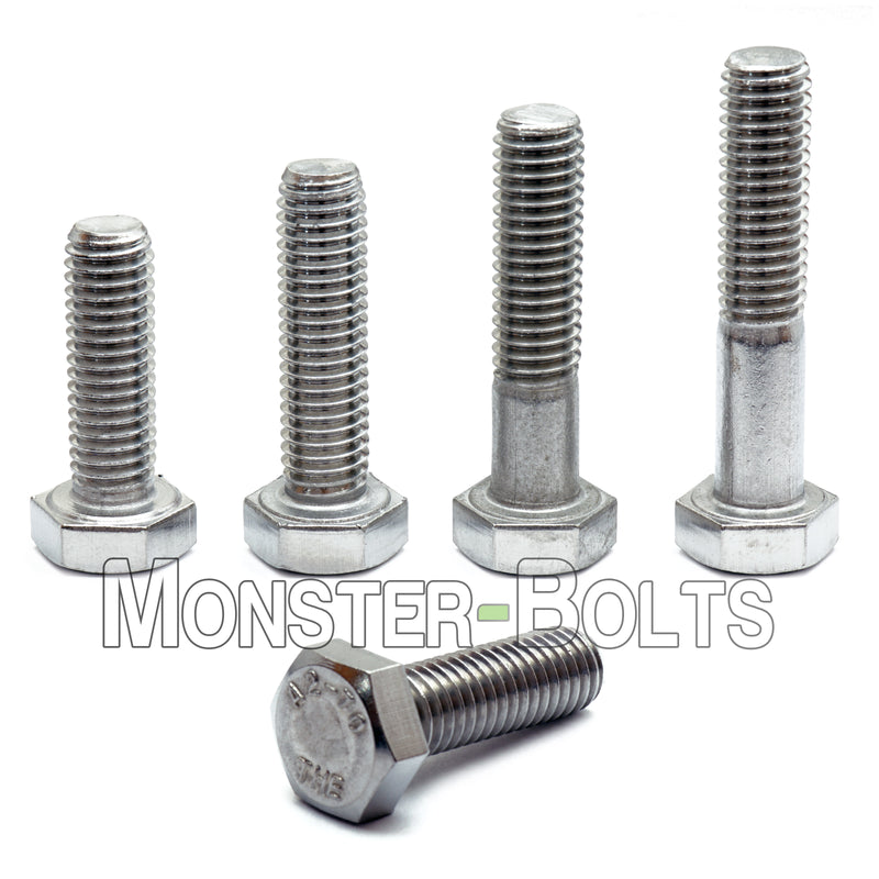 M8 Hex Bolts, Stainless Steel 18-8 (A2) - Monster Bolts