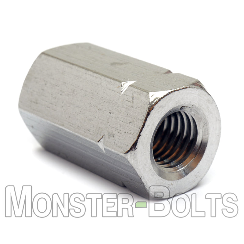 Hex Coupling Nuts, Stainless Steel A2 (18-8), DIN 6334