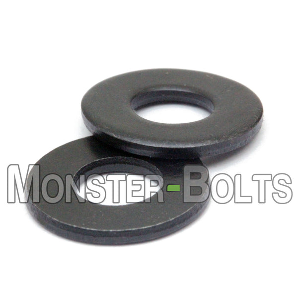 DIN 125A Metric Flat Washers, 200 HV Plain Steel (125 A) - Monster Bolts