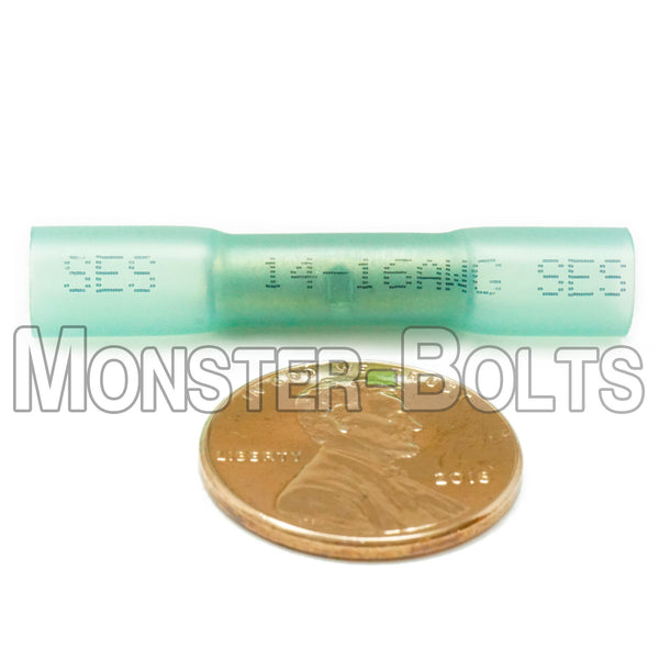 SES Krimpa-Seal Waterproof Crimp Butt Connectors, Blue 14-16 AWG - Monster Bolts