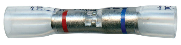 Opti-Seal Crystal Clear Heat Shrink Sealed Crimp Step-Down Butt Connectors, NSPA SES OS56-20 OS56-16