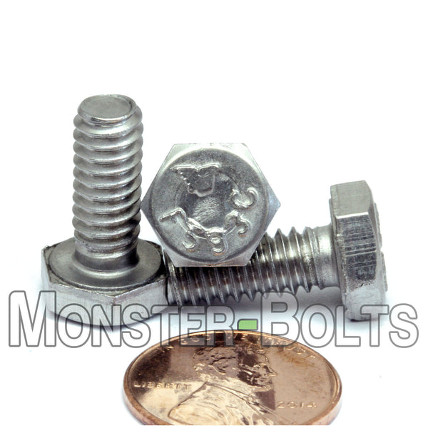 "1/4""-20 - Stainless Steel Hex Cap Bolts / screws 18-8 / A2"