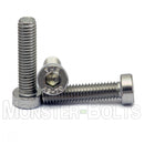M6 Low Head Socket Cap screws, 18-8 Stainless Steel A2 - Monster Bolts