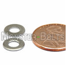 Metric Flat Washer - Stainless Steel DIN 125A (125 A) 18-8 / A2 - Monster Bolts