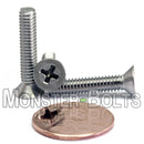 #8-32 Phillips Flat Head Machine screws - Stainless Steel 18-8