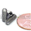 #8-32 - Stainless Steel Cup Point Socket Set screws - A2 / 18-8