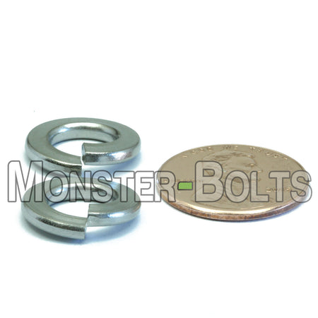U.S. / Inch - Stainless Steel Split Lock Washers - A2 / 18-8 - Monster Bolts