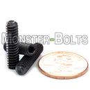#10-24 - Cup Point Socket Set screws - Alloy Steel w/ Thermal Black Oxide