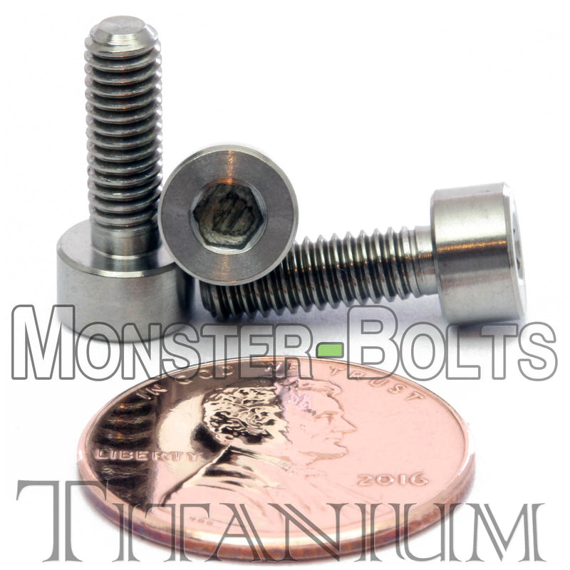 M4 Titanium Socket Head Cap screws DIN 912 / ISO 4762 - Monster Bolts